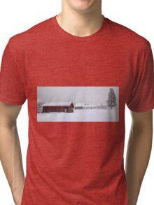 April 1st Blizzard - The Lindscott Farm Tri-blend T-Shirt