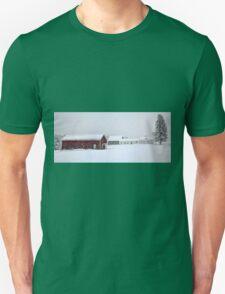April 1st Blizzard - The Lindscott Farm Unisex T-Shirt