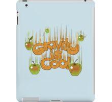 Gravity is cool iPad Case/Skin