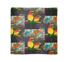 Golden kingfishers,tiled Scarf