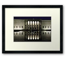 Limo at the Nelson Framed Print
