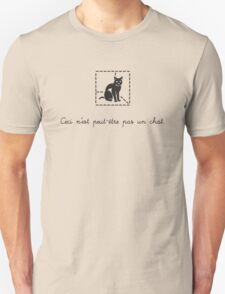 Le Chat de Schrödinger (dark) T-Shirt