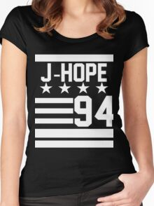 J-HOPE 94 Women's Fitted Scoop T-Shirt