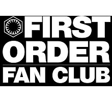 First Order Fan Club Photographic Print