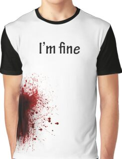 I'm Fine Graphic T-Shirt