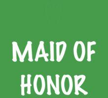 Maid of Honor Kids Tee