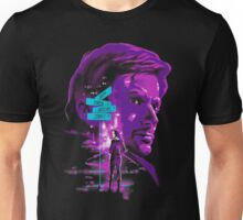 Man in purple Unisex T-Shirt