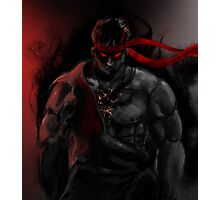 EVIL Ryu So badass Street Fighter Photographic Print