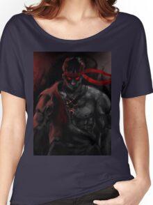 EVIL Ryu So badass Street Fighter Women's Relaxed Fit T-Shirt