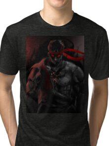 EVIL Ryu So badass Street Fighter Tri-blend T-Shirt