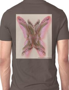Feet and Butterfly Unisex T-Shirt