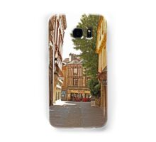 Small Street in Central Vannes Brittany France Samsung Galaxy Case/Skin