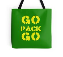 Go Pack Go - Green Bay's Finest! Tote Bag