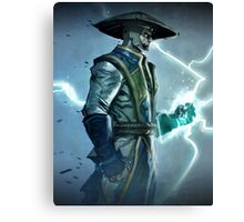 Raiden, Mortal Kombat Canvas Print