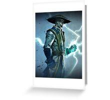 Raiden, Mortal Kombat Greeting Card