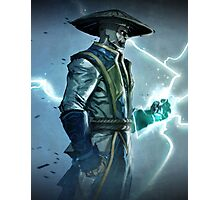 Raiden, Mortal Kombat Photographic Print