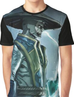 Raiden, Mortal Kombat Graphic T-Shirt
