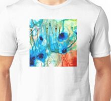 Unique Art - A Touch Of Red - Sharon Cummings Unisex T-Shirt