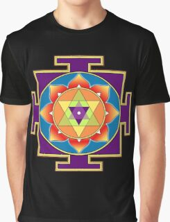 Sri Ganesha Yantra Graphic T-Shirt