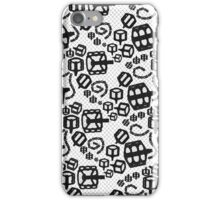 Lace Bicycle Parts Black iPhone Case/Skin
