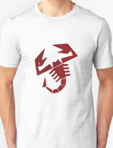 scorpion vintage racing logo Unisex T-Shirt