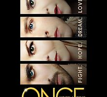 once upon a time, faces version 4 on black, emma swan, prince charming, snow white, hook, killian, ouat, ouat iphone case by sae37