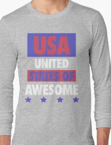 United States of Awesome - USA Long Sleeve T-Shirt