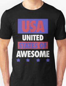 United States of Awesome - USA Unisex T-Shirt
