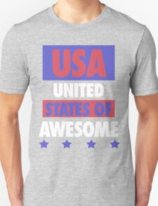 United States of Awesome - USA T-Shirt