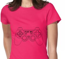 Video game - Play Me PS3 Black Womens Fitted T-Shirt