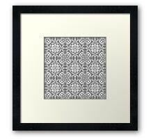 Unique Artistic Pattern Framed Print
