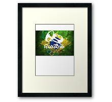 RIO 2016 Brazil Olympics  Framed Print