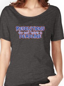 NYE Resolutions Women's Relaxed Fit T-Shirt
