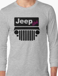 Black Jeep Girl Long Sleeve T-Shirt