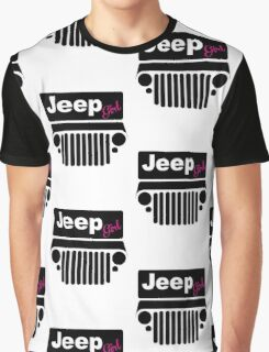 Black Jeep Girl Graphic T-Shirt