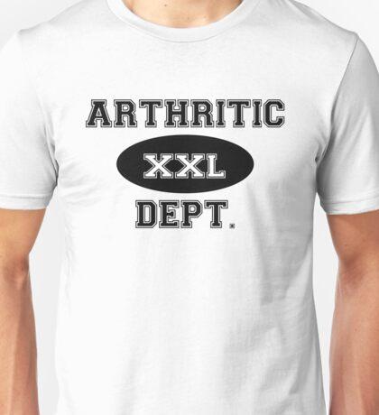 Arthritic Dept. Unisex T-Shirt