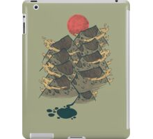 There's Chocolate in Those Mountains iPad Case/Skin