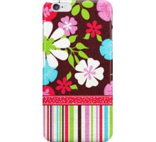 Bright and Bold Floral iPhone Case/Skin