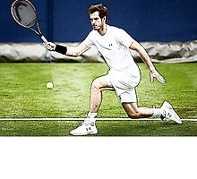 Andy Murray Wimbledon Tennis by RighteousOnix