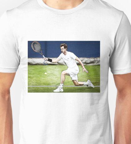 Andy Murray Wimbledon Tennis Unisex T-Shirt