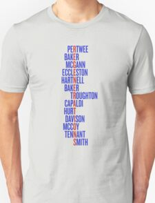 Doctor Who Regenerations T-Shirt