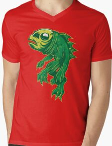 Creature From Some Lagoon Mens V-Neck T-Shirt