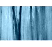 Blue abstract #2 Photographic Print