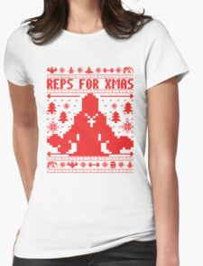 Reps For Xmas Womens Fitted T-Shirt