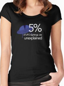 Unexplained Women's Fitted Scoop T-Shirt