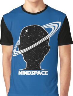 Mindspace Sci-fi Space Design Graphic T-Shirt