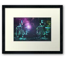 The Hatbox Ghost Returns Framed Print