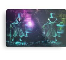 The Hatbox Ghost Returns Metal Print