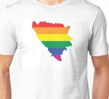 bosnia gay map Unisex T-Shirt