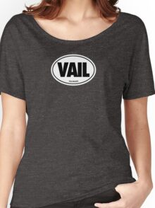 VAIL - EURO STICKER Women's Relaxed Fit T-Shirt